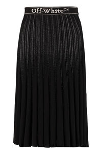 Pleated knitted skirt, Pleated skirts Off-White woman