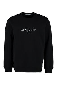 Logo print cotton sweatshirt, Sweatshirts Givenchy man