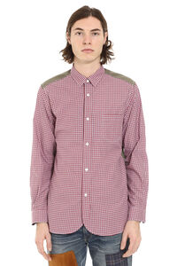 Long sleeve cotton shirt, Checked Shirts Junya Watanabe Comme des Garçons Man man