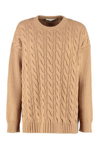 Cannes cable knit pullover, Crew neck sweaters Max Mara woman