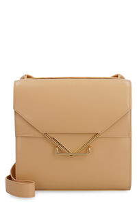 The Clip leather crossbody bag, Shoulderbag Bottega Veneta woman