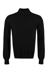 Wool and cachemire turtleneck pullover, Turtleneck MSGM man