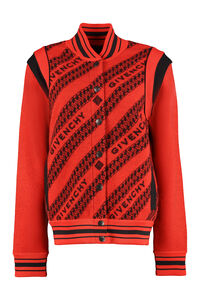 Bomber in lana, Bomber Givenchy woman