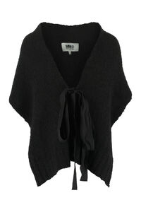 Knitted scarf, Poncho MM6 Maison Margiela woman