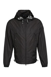 Massereau hooded nylon jacket, Raincoats And Windbreaker Moncler man