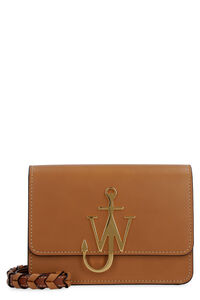 Anchor Logo leather crossbody bag, Shoulderbag JW Anderson woman