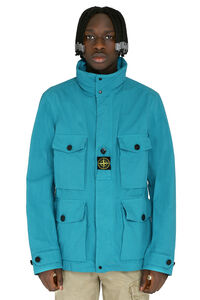 Cotton blend coat, Raincoats And Windbreaker Stone Island man