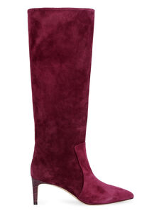 Suede knee high boots, Knee-high Boots Paris Texas woman