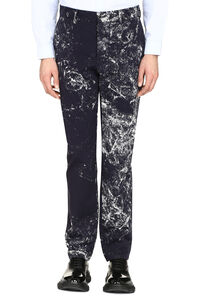 Printed cotton trousers, Formal trousers Maison Margiela man