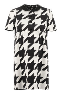 Houndstooth sheath dress, Printed dresses Gucci woman