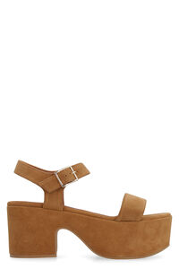 Suede platform sandals, Wedges L'Autre Chose woman