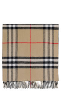 Double-face cashmere scarf, Scarves Burberry man