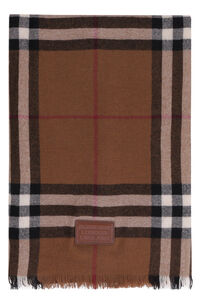 Checked cashmere scarf, Scarves Burberry woman