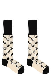 GG jacquard cotton-blend socks, Socks Gucci woman