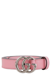 GG buckle leather belt, Belts Gucci woman