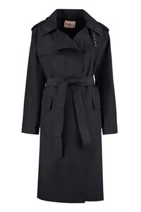 Trench coat in nylon, Impermeabili E Giacche A Vento Plan C woman