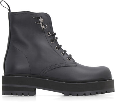 FFreedom leather combat boots