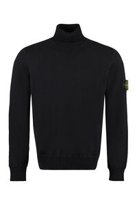 Turtleneck pullover, Turtleneck Stone Island man