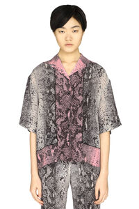 Printed silk shirt, Shirts N°21 woman