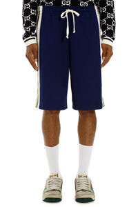 Logoed side band shorts, Shorts Gucci man