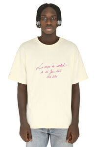 Embroidered cotton t-shirt, Short sleeve t-shirts Jacquemus man