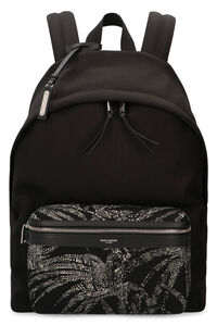 City canvas backpack, Backpack Saint Laurent man