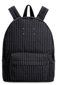 Jacquard nylon backpack, Backpack Maison Margiela man
