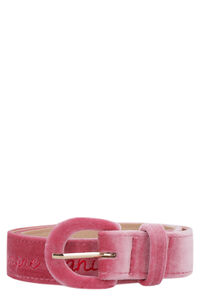 Velvet belt, Belts Giada Benincasa woman