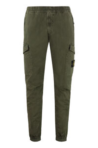 Cotton twill cargo pants, Casual trousers Stone Island man