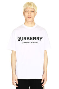 Crew-neck cotton T-shirt, Short sleeve t-shirts Burberry man