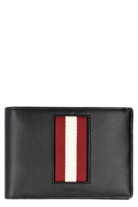 Bhalek leather wallet, Wallets Bally man