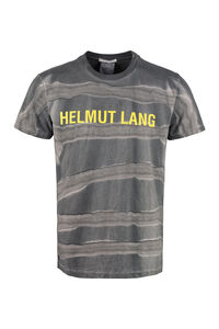 Tie-Dye cotton T-shirt, Short sleeve t-shirts Helmut Lang man