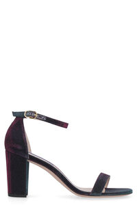 Nearlynude lame sandals, Heeled Sandals Stuart Weitzman woman