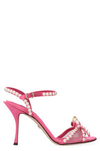 Embellished satin sandals, Heeled Sandals Dolce & Gabbana woman