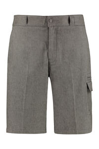 Linen and cotton trousers, Shorts Salvatore Ferragamo man
