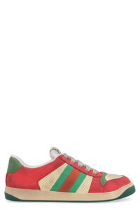 Screener leather sneakers, Low Top Sneakers Gucci man