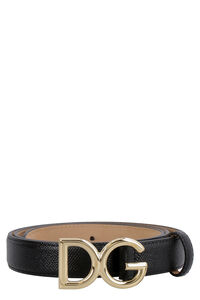 DG buckle leather belt, Belts Dolce & Gabbana woman