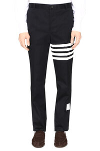 Cotton gabardine trousers, Casual trousers Thom Browne man