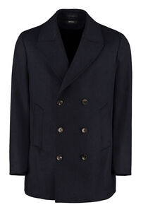 Double-breasted wool coat, Peacoats Z Zegna man