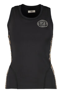 Tank-top sportivo in tessuto techno, Tanks Fendi woman