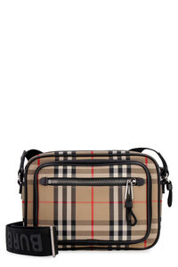 Messenger bag with check motif, Messenger bags Burberry man