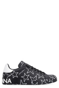 Portofino leather sneakers, Low Top Sneakers Dolce & Gabbana man