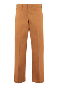 Due high-rise cotton trousers, Cropped pants Department 5 woman