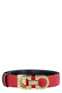 Gancini reversible leather belt, Belts Salvatore Ferragamo woman