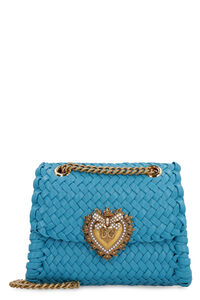 Devotion woven leather shoulder bag, Shoulderbag Dolce & Gabbana woman