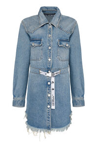 Denim shirtdress, Mini dresses Off-White woman