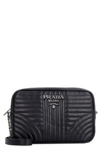 Diagramme quilted leather shoulder bag, Shoulderbag Prada woman