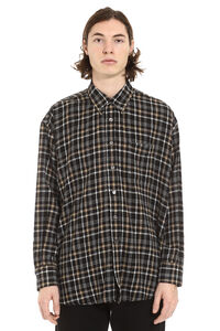 Borrowed BD checked cotton shirt, Checked Shirts Our Legacy man