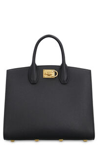 The Studio leather handbag, Top handle Salvatore Ferragamo woman