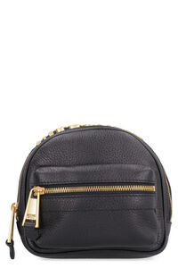 Leather belt bag with logo, Beltbag Moschino woman